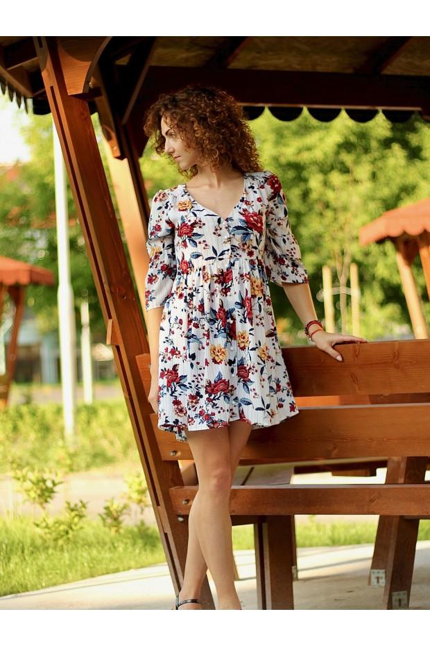 Dress Valery / White