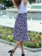 Skirt Poly Zebra