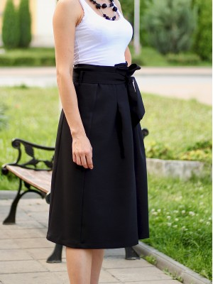 Skirt Poly Black